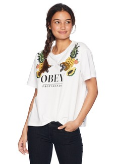 Obey Junior's Help ME Embellished TOP  M