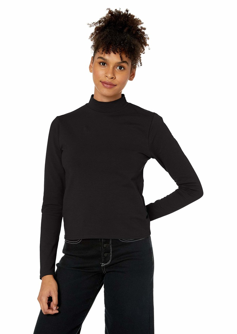 Obey Junior's Kinzie Fitted Mockneck LS TOP