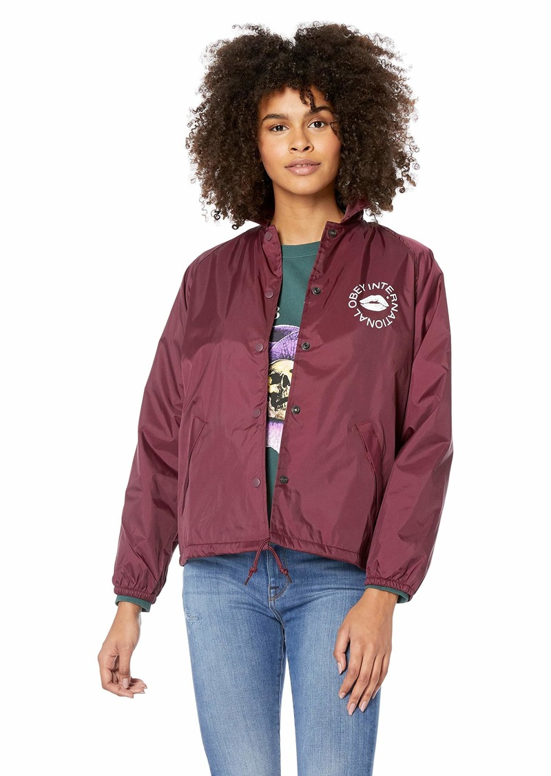 Obey Junior's KISS Coaches Jacket