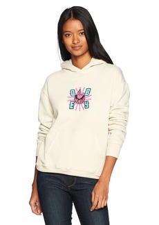 OBEY Junior's Ministry Of Propaganda Oversized Hooded Sweatshirt  M