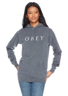Obey Junior's Novel 2 Premium Pullover Hooded Sweatshirt  L