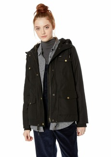 Obey Junior's Pistol Hooded Military Jacket
