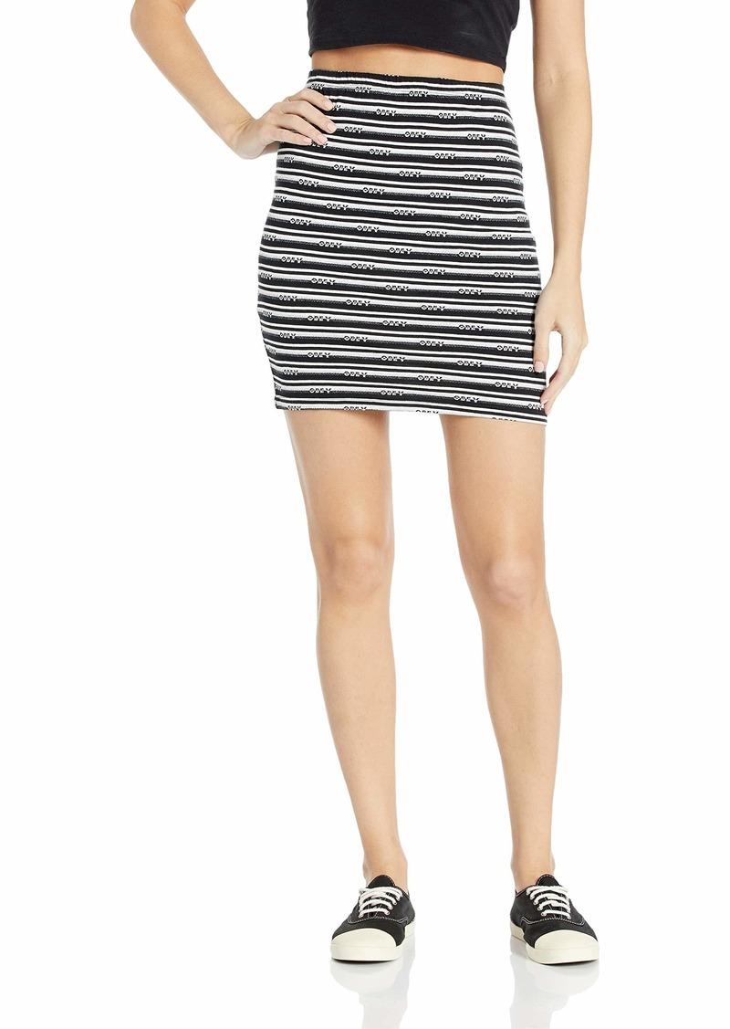 Obey Junior's Pratt Skirt with Elastic Waistband