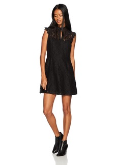 Obey Junior's Rapture Lace Dress  S