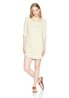 Obey Junior's Rollings Shirt Dress  L