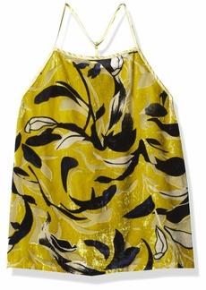 Obey Junior's Savoy Velvet Halter Cami Top  XL