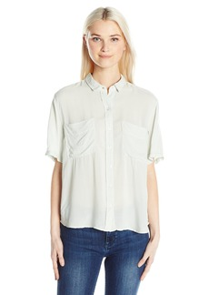 OBEY Junior's St Marina Button-Down Shirt  L