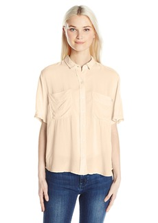Obey Junior's St. Marina Button-Down Shirt  M