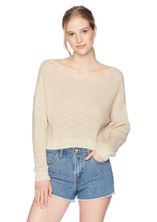 Obey Junior's Weekender Oversized Chunky Sweater  M