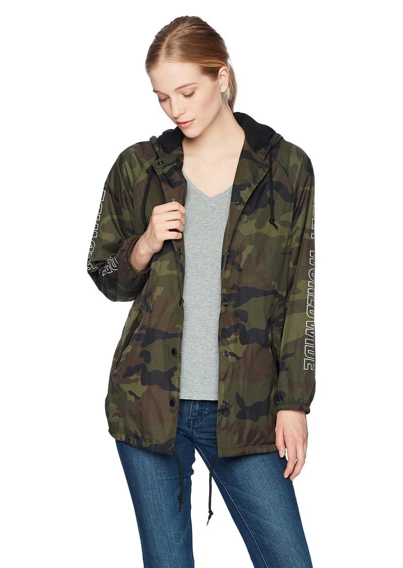 Obey Junior's Worldwide Outline Premium Hooded Sweatshirt camo M