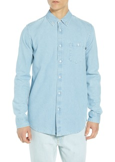 Obey Keble Chambray Shirt