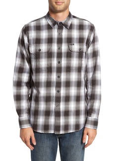 Obey Kemper Plaid Woven Shirt