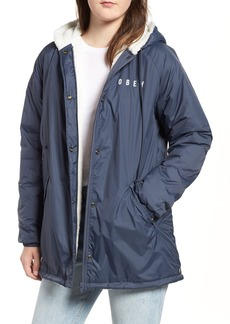 Obey Kenna Water-Resistant Coach's Jacket