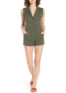 Obey Kingston Cotton Romper