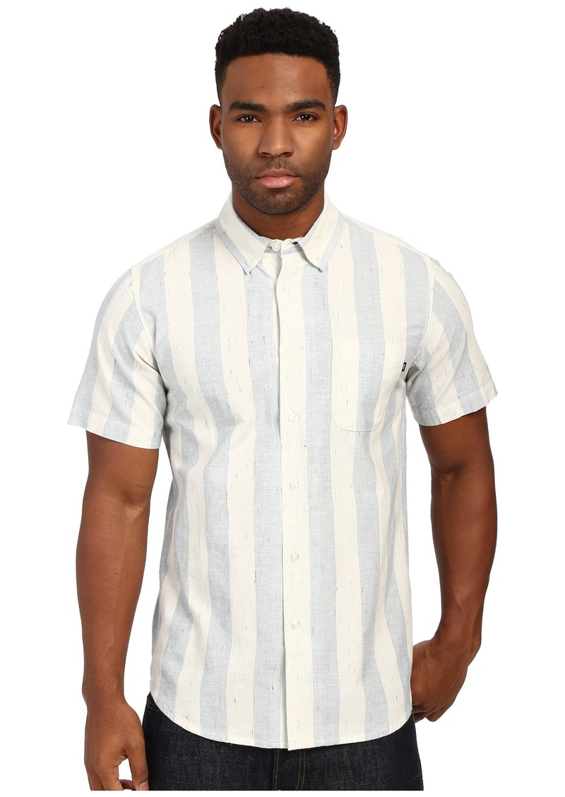 Obey La Brea Short Sleeve Woven Top