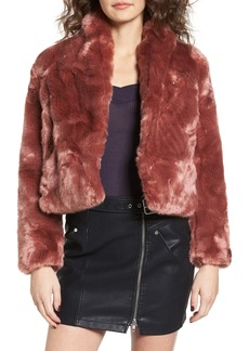 Obey Lana Faux Fur Coat