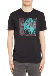 Obey Lies & Noise Graphic T-Shirt