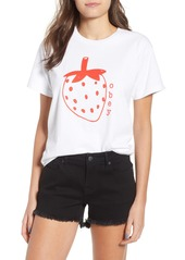 Obey Lo-Fi Strawberry Graphic Tee