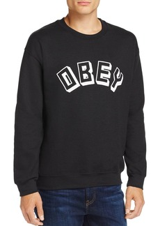Obey Logo Crewneck Sweatshirt - 100% Exclusive