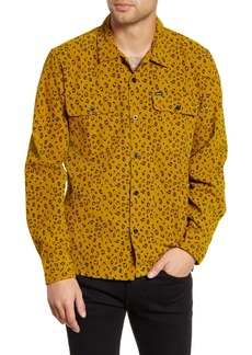 Obey Lounger Button-Up Corduroy Shirt