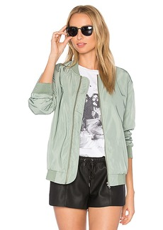 Obey Mako Bomber Jacket in Sage. - size M (also in XS,S,L)