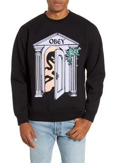Obey Mausoleum Crewneck Sweatshirt