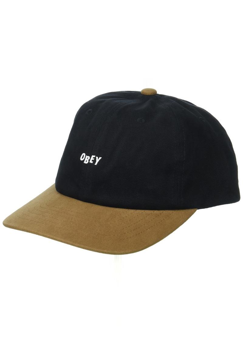 bfaf7656 Men's 90's Jumble 6 Panel Sb Hat Black/Tan O/S