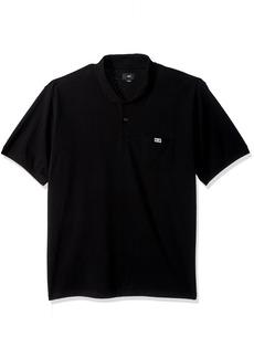 Obey Men's All Eyez Short Sleeve Polo Shirt  M