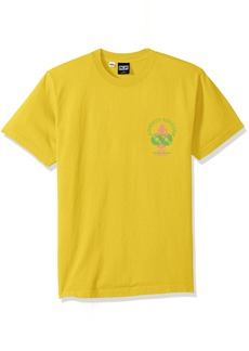 Obey Men's Anxiety Riddims Dyed Heavyweight T-Shirt  M