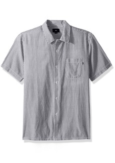 Obey Men's Avalon Short Sleeve Button up Woven  XL