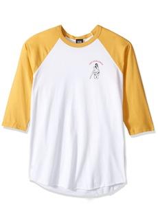 Obey Men's Born to Lose Premium Raglan Shirt