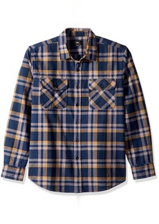 OBEY Men's Canvas Long Sleeve Woven Shirt  L