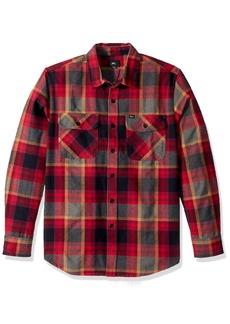 OBEY Men's Canvas Long Sleeve Woven Shirt  M