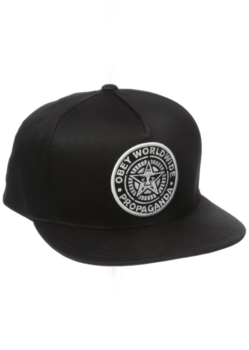 a926b51f0b343 SALE! Obey Obey Men s Classic Patch Snapback Hat