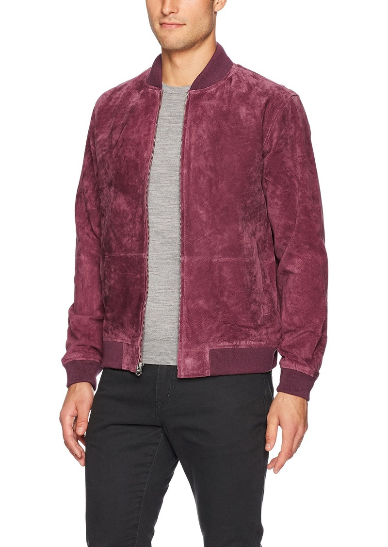 4108d69357a6 Obey Obey Men's Clifton Suede Bomber Jacket M