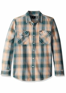 Obey Men's Continental Long Sleeve Woven Shirt