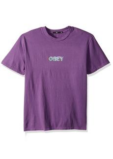 Obey Men's Creep Scan Pigment Tee  L