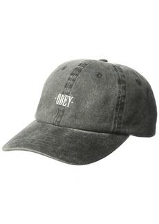 Obey Men's Cress 6 Panel Snapback Hat  O/S