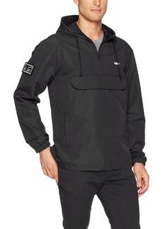 Obey Men's Crosstown Windbreaker Pullover Hooded Anorak Jacket  M