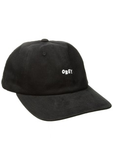 Obey Men's Cutty 6 Panel Snapback HAT  ONE Size