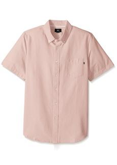 Obey Men's Dissent II Woven Short Sleeve Shirt  2XL