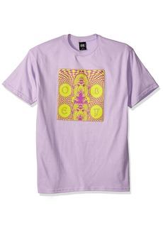 Obey Men's Dreams Heavyweight Crewneck T-Shirt  M
