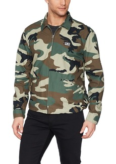 Obey Men's Driver Military Jacket  S