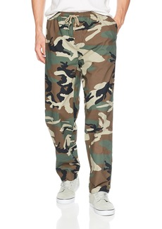 Obey Men's Easy Camo Elastic Waistband Pant  XL