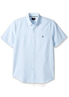 Obey Men's Eighty Nine Woven Short Sleeve Shirt