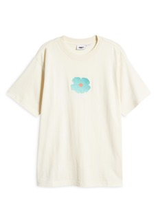Obey Men's Embroidered Flower T-Shirt