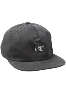 Obey Men's Hey Man Strapback Hat