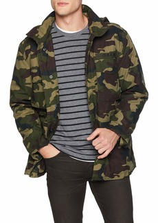 Obey Men's Iggy Insulated Military Jacket