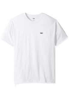 Obey Men's Jumble LO-FI Lightweight Short Sleeve Tshirt  L
