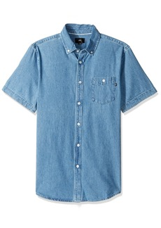 Obey Men's Keble Ii Woven Short Sleeve Shirt
